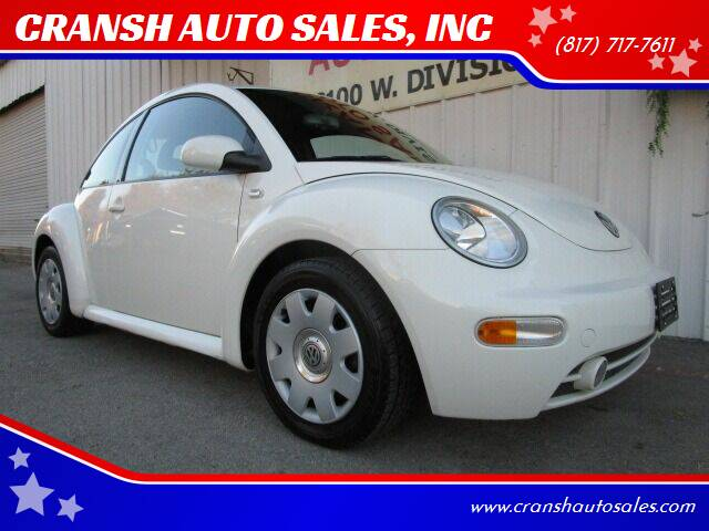 2002 Volkswagen New Beetle for sale at CRANSH AUTO SALES, INC in Arlington TX