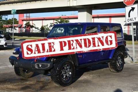 2018 Jeep Wrangler Unlimited for sale at STS Automotive - Miami, FL in Miami FL