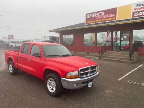 2004 Dodge Dakota for sale at Pro Motors in Roseburg OR