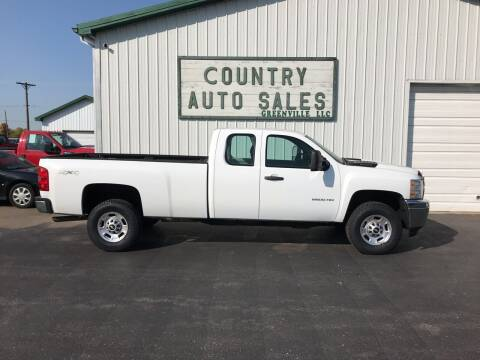 2011 Chevrolet Silverado 2500HD for sale at COUNTRY AUTO SALES LLC in Greenville OH