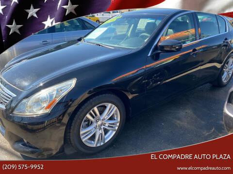 2010 Infiniti G37 Sedan for sale at El Compadre Auto Plaza in Modesto CA