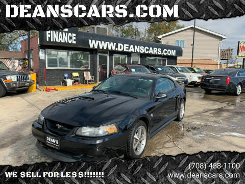 2004 Ford Mustang for sale at DEANSCARS.COM in Bridgeview IL