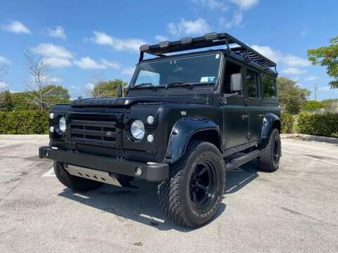 1988 Land Rover Defender for sale at American Classics Autotrader LLC in Pompano Beach FL