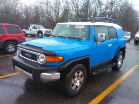 2007 Toyota FJ Cruiser for sale at Plymouthe Motors in Leominster MA