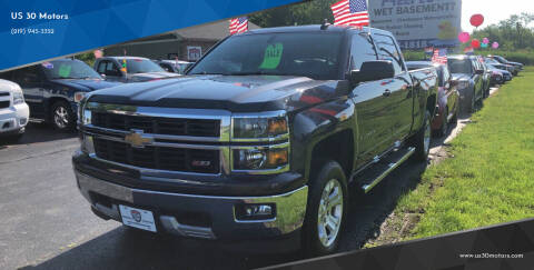 2015 Chevrolet Silverado 1500 for sale at US 30 Motors in Merrillville IN