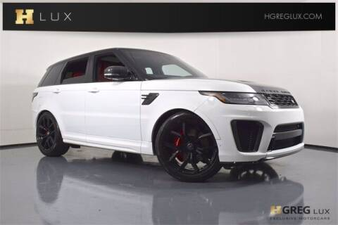 2020 Land Rover Range Rover Sport for sale at HGREG LUX EXCLUSIVE MOTORCARS in Pompano Beach FL