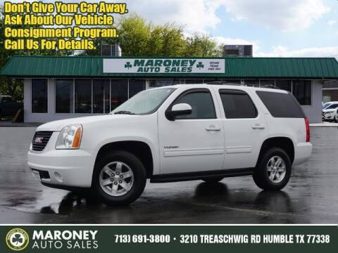 2013 GMC Yukon for sale at Maroney Auto Sales in Humble TX