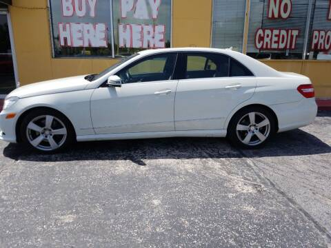 2011 Mercedes-Benz E-Class for sale at BSS AUTO SALES INC in Eustis FL