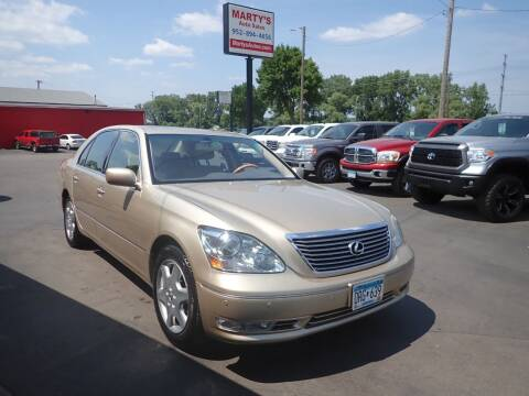 2005 Lexus LS 430 for sale at Marty's Auto Sales in Savage MN