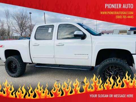 2010 Chevrolet Silverado 1500 for sale at Pioneer Auto in Ponca City OK