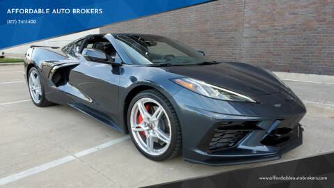 2021 Chevrolet Corvette for sale at AFFORDABLE AUTO BROKERS in Keller TX