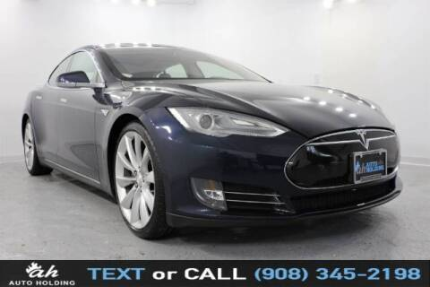 2013 Tesla Model S for sale at AUTO HOLDING in Hillside NJ