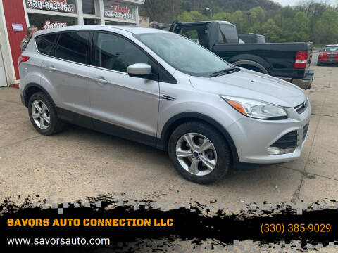 2014 Ford Escape for sale at SAVORS AUTO CONNECTION LLC in East Liverpool OH