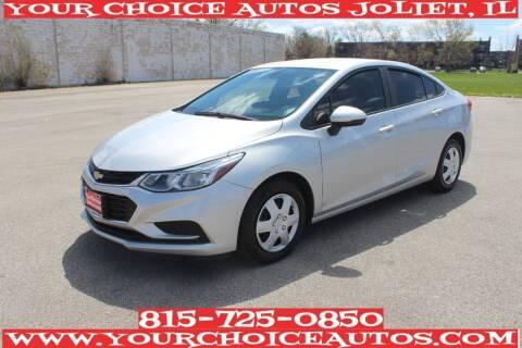2016 Chevrolet Cruze for sale at Your Choice Autos - Joliet in Joliet IL