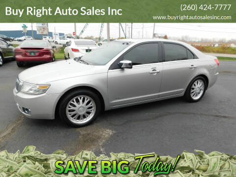 2007 Lincoln MKZ for sale at Buy Right Auto Sales Inc in Fort Wayne IN
