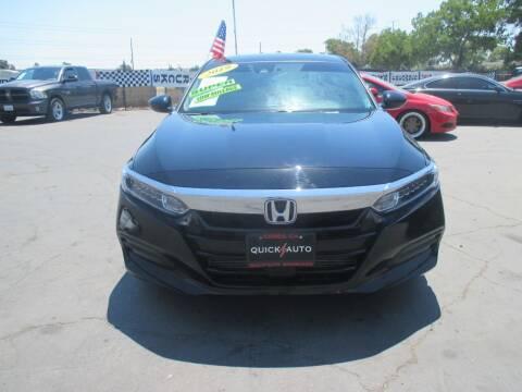 2019 Honda Accord for sale at Quick Auto Sales in Modesto CA