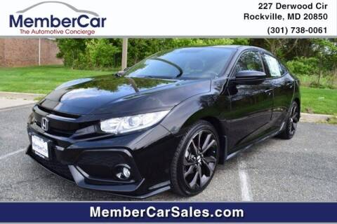 2019 Honda Civic for sale at MemberCar in Rockville MD