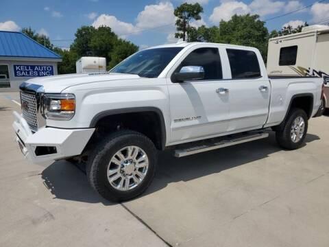 2015 GMC Sierra 2500HD for sale at Kell Auto Sales, Inc in Wichita Falls TX