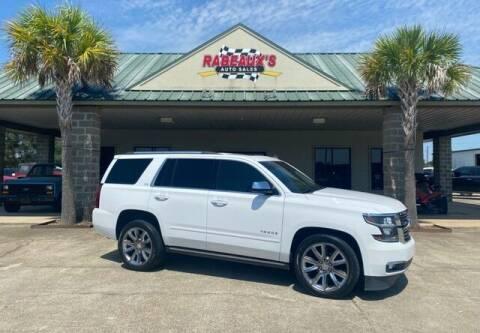 2015 Chevrolet Tahoe for sale at Rabeaux's Auto Sales in Lafayette LA