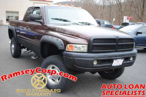 2001 Dodge Ram Pickup 2500 for sale at Ramsey Corp. in West Milford NJ