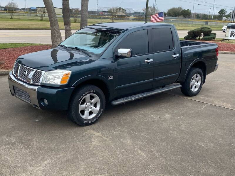 2004 Nissan Titan for sale at M A Affordable Motors in Baytown TX