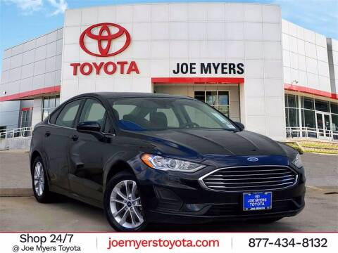 2020 Ford Fusion for sale at Joe Myers Toyota PreOwned in Houston TX