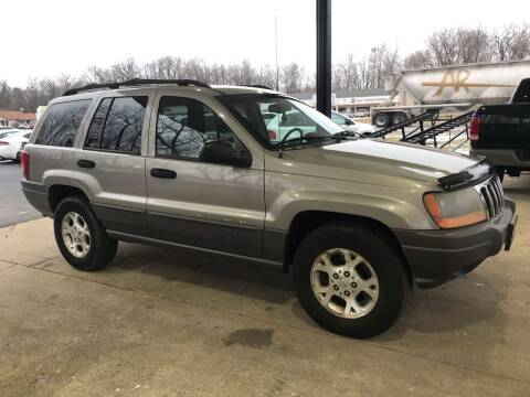 2001 Jeep Grand Cherokee for sale at GABBY'S AUTO SALES in Valparaiso IN