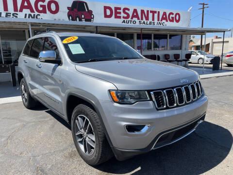 2018 Jeep Grand Cherokee for sale at DESANTIAGO AUTO SALES in Yuma AZ
