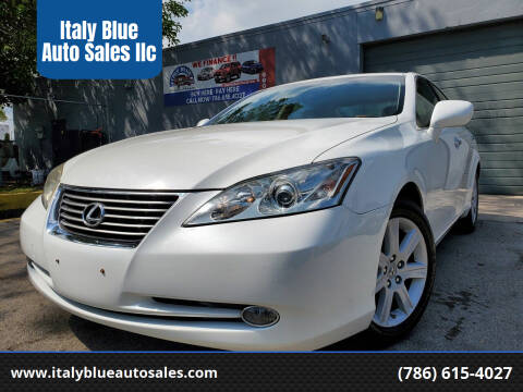 2007 Lexus ES 350 for sale at Italy Blue Auto Sales llc in Miami FL