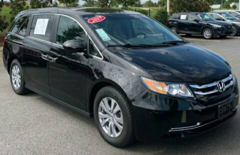 2017 Honda Odyssey for sale at Wheels Auto Sales in Bloomington IN