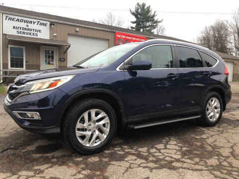 2015 Honda CR-V for sale at Jim's Hometown Auto Sales LLC in Byesville OH