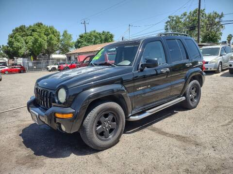 2002 Jeep Liberty for sale at Larry's Auto Sales Inc. in Fresno CA