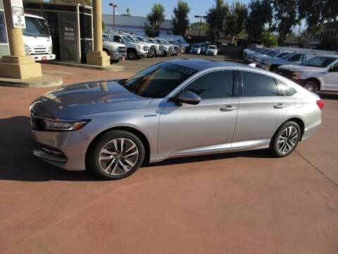 2020 Honda Accord Hybrid for sale at Norco Truck Center in Norco CA