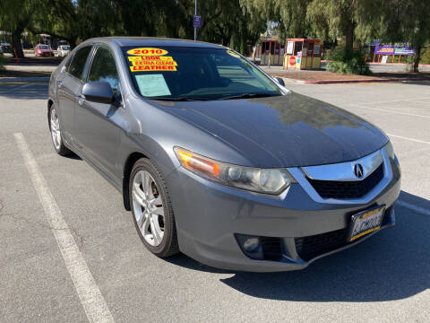 2010 Acura TSX for sale at ALL CREDIT AUTO SALES in San Jose CA
