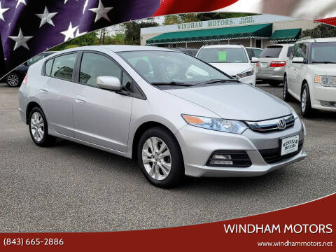 2012 Honda Insight for sale at Windham Motors in Florence SC
