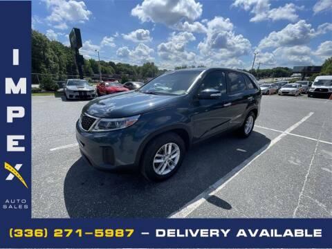 2014 Kia Sorento for sale at Impex Auto Sales in Greensboro NC