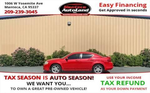 2011 Dodge Avenger for sale at Manteca Auto Land in Manteca CA