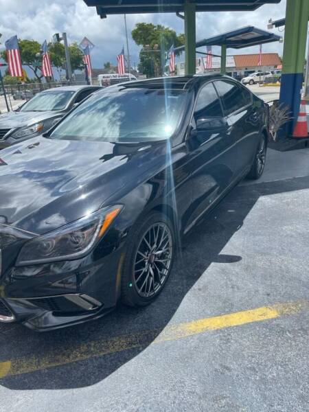 2018 Genesis G80 for sale at CHASE MOTOR in Miami FL