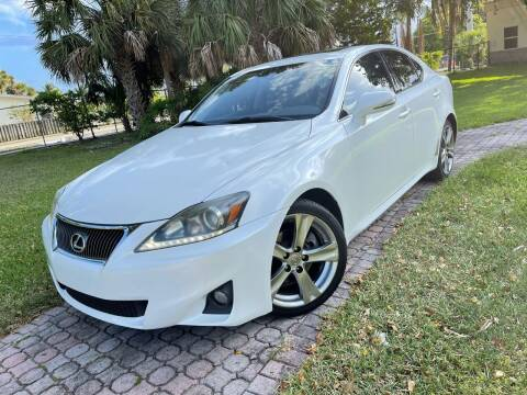 2011 Lexus IS 250 for sale at Citywide Auto Group LLC in Pompano Beach FL
