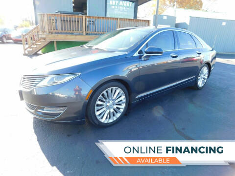 2014 Lincoln MKZ for sale at Buy Right Auto Sales Inc in Fort Wayne IN