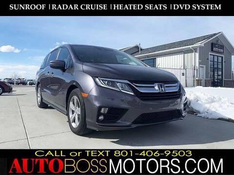 2020 Honda Odyssey for sale at Auto Boss in Woodscross UT