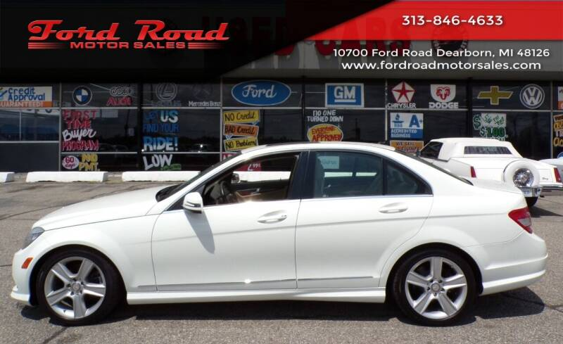 2011 Mercedes-Benz C-Class for sale at Ford Road Motor Sales in Dearborn MI