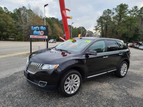 2014 Lincoln MKX for sale at Let's Go Auto in Florence SC