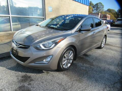 2015 Hyundai Elantra for sale at Southern Auto Solutions - Georgia Car Finder - Southern Auto Solutions - 1st Choice Autos in Marietta GA
