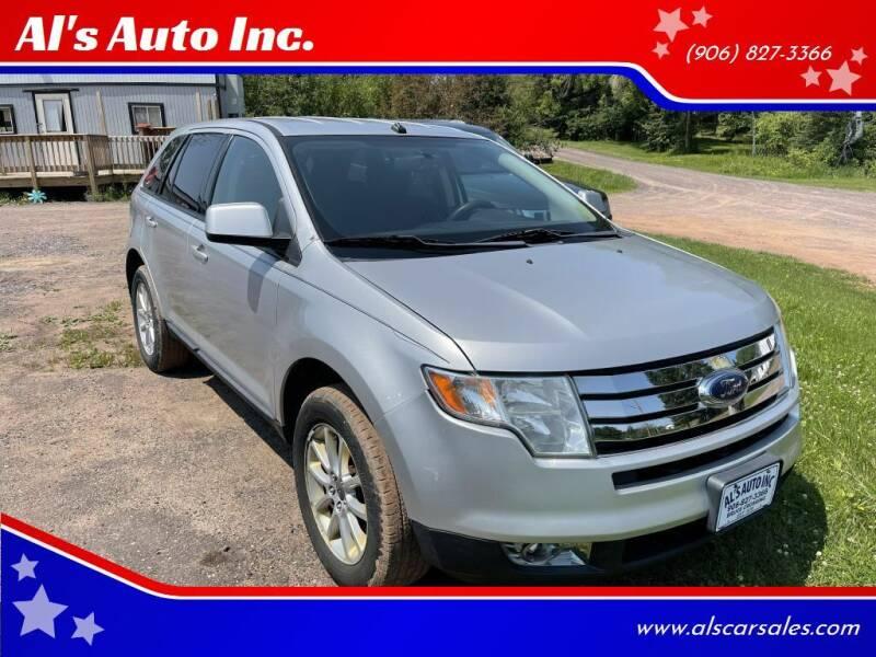 2009 Ford Edge for sale at Al's Auto Inc. in Bruce Crossing MI