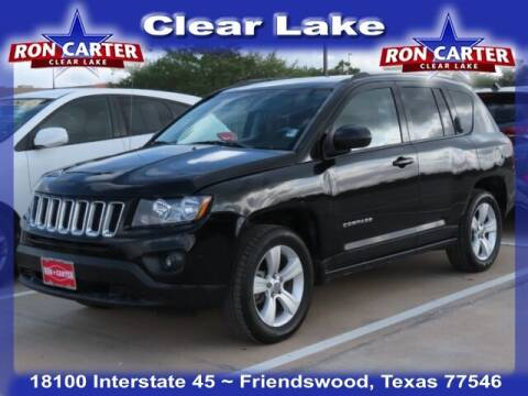 2016 Jeep Compass for sale at Ron Carter  Clear Lake Used Cars in Houston TX