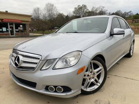 2010 Mercedes-Benz E-Class for sale at Gwinnett Luxury Motors in Buford GA