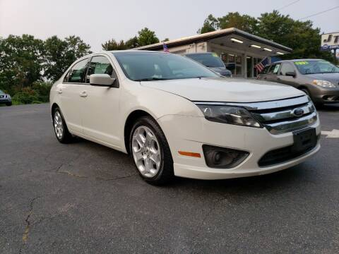 2010 Ford Fusion for sale at Highlands Auto Gallery in Braintree MA