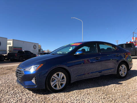 2020 Hyundai Elantra for sale at 1st Quality Motors LLC in Gallup NM