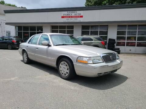 2005 Mercury Grand Marquis for sale at Landes Family Auto Sales in Attleboro MA